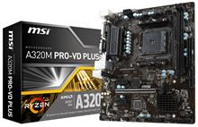 MSI A320M PRO-VD PLUS AM4 Motherboard